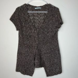 Maurices Short Sleeve Cardigan Cover Up